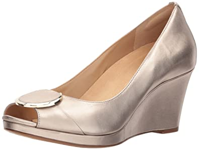 Naturalizer Women's Ollie Pump, Champagne, ...