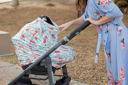 Amazon.com: Bebé asiento de coche cubierta Canopy & Cover de ...