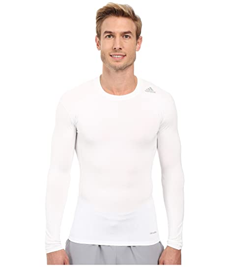 83bf4a299 Amazon.com: adidas Men's Techfit Base Layer Long Sleeve Tee: Clothing