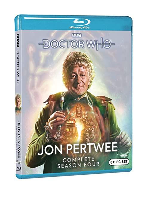 Doctor Who: Jon Pertwee Complete Season Four 6 Blu-Ray Edizione: Stati Uniti Italia Blu-ray: Amazon.es: Jon Pertwee, William Hartnell, Patrick Troughton, Katy Manning, Nicholas Courtney, John Levene, Roger Delgado, Richard Franklin, Michael