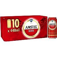 Amstel Bier Beer Cans, 10x440ml