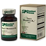 Standard Process - Trace Minerals-B12 - Supports Healthy Cell Function, Thyroid, Spleen, Blood, Bone, Joints, and Immune System - 90 Tablets