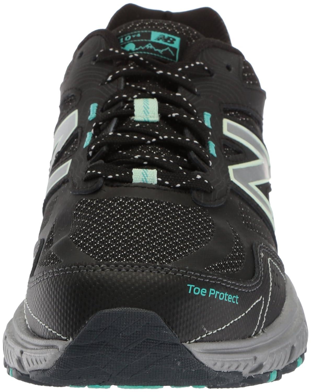 New Balance Women's 510v4 Cushioning Trail Running Shoe B0751GPX8L 12 D US|Black