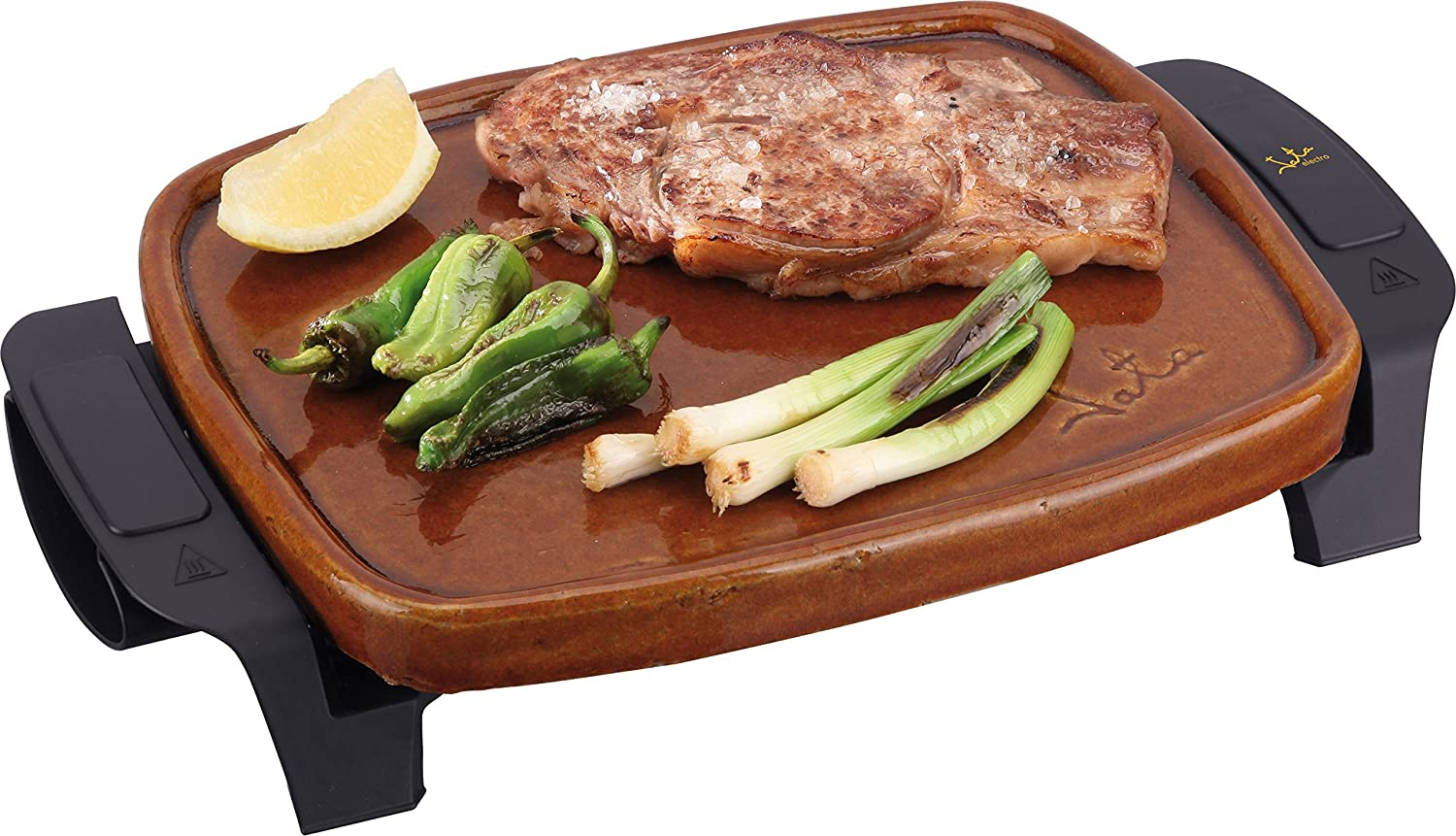 Jata GR208 Terracotta Roasting Griddle Grill: Amazon.co.uk ...