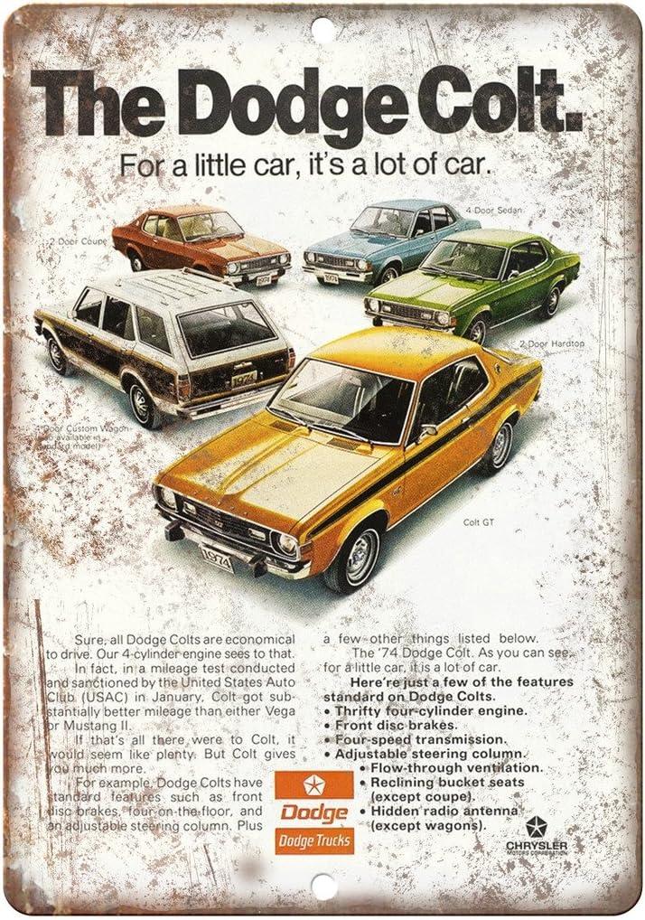 "1974 Dodge Pickup Wagon Truck Car Ad 10/"" x 7/"" Reproduction Metal Sign A261"