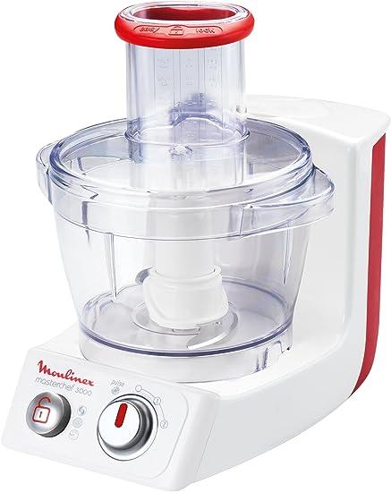 Moulinex FP3181, Rojo, Blanco, Plástico, Acero inoxidable - Robot de cocina: Amazon.es: Hogar