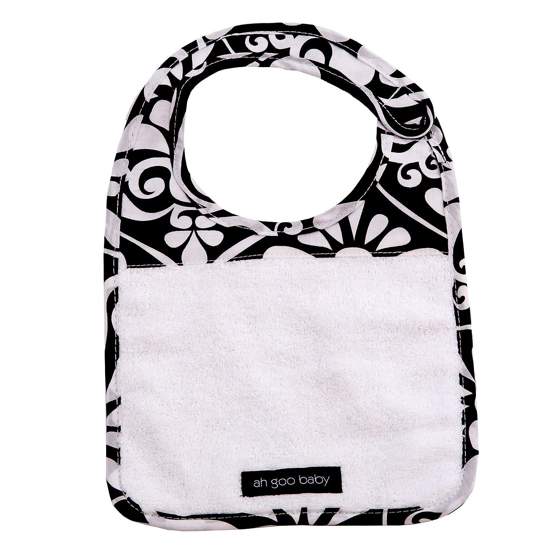 Amazon Ah Goo Baby Bib Cotton Terry Cloth Wrap Around