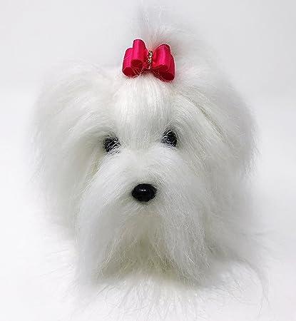 Amazon Com Pawz Publishing Lily The Fancipoo Maltese Dog Stuffed