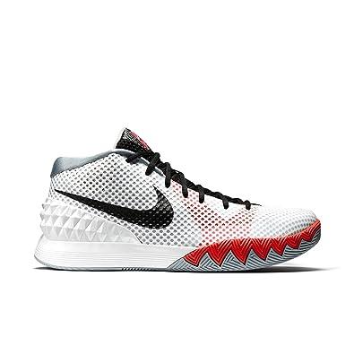 best service accc4 d7c30 Amazon.com | NIKE Men's Kyrie Basketball Shoes White 705277-100 (12 ...