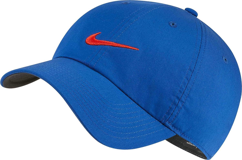 Nike Heritage86 Gorra de béisbol, Azul (Azul 438), One Size ...