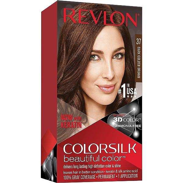 Revlon ColorSilk Tinte de Cabello Permanente Tono #37 ...