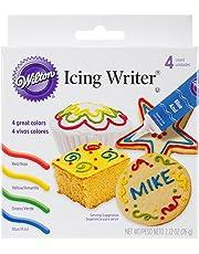 Icing Writer Tubes, Ready-to-Use, 19 g (0.68 oz), Set of 4