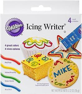 Wilton704-472 4-Pack Icing Writer Tube