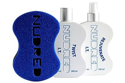 nudred la Iniciación Twist de la información 2 botella Set con cepillo | sistema