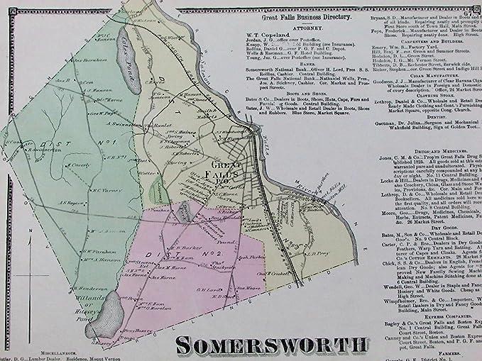 Amazon com: Somersworth Strafford County New Hampshire NH