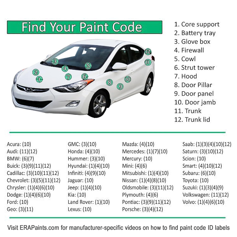 Amazon.com ERA Paints PICK YOUR COLOR for Cadillac