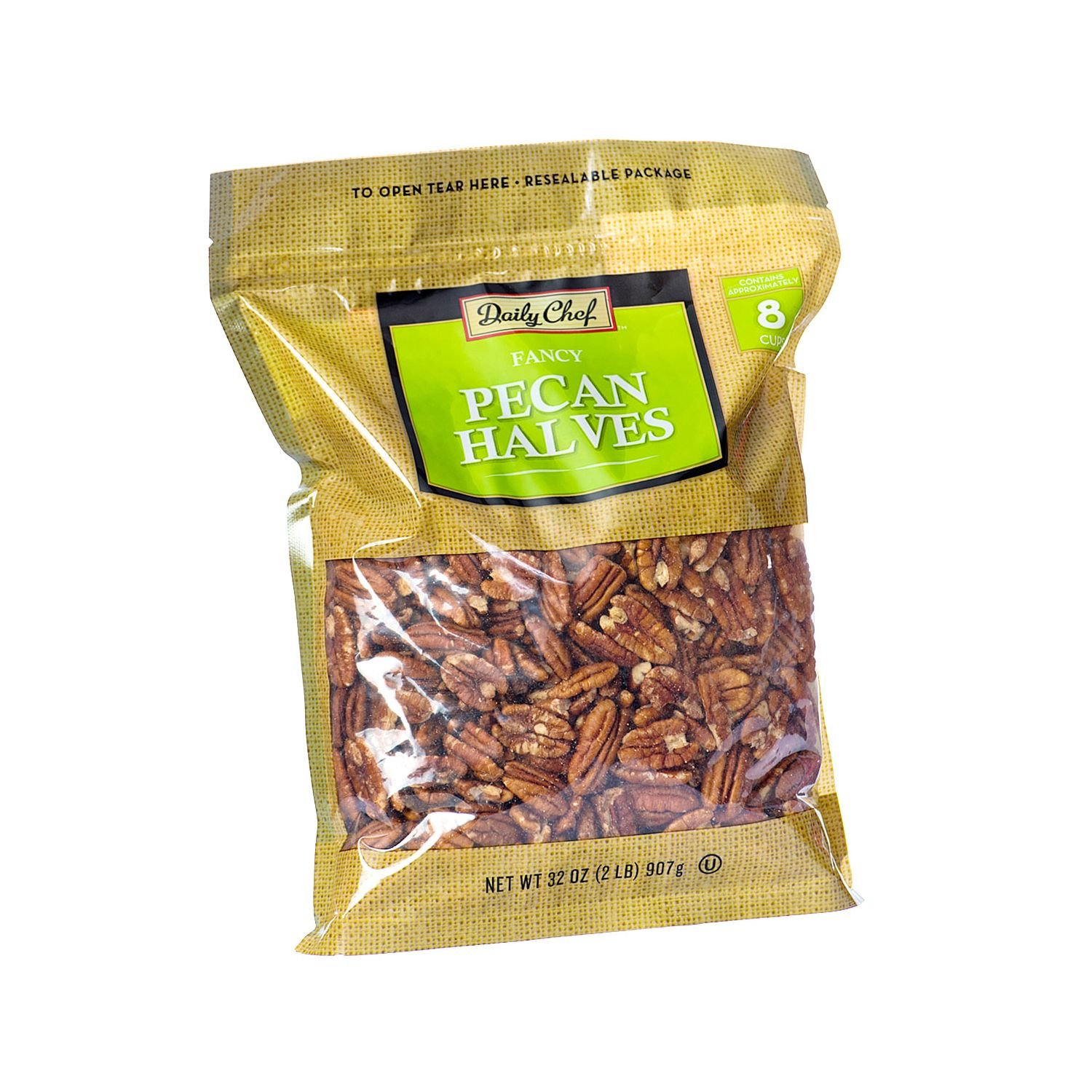 Daily Chef Pecan Halves (2 lb.) (pack of 6)