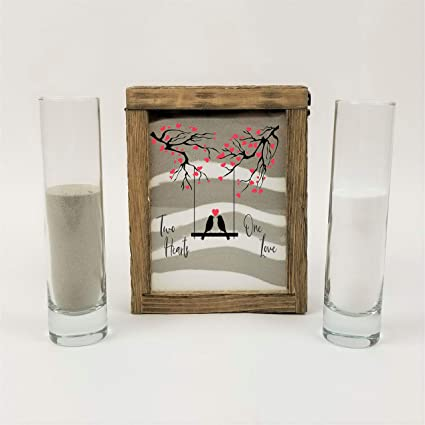 Sand Ceremony Wedding.Amazon Com Streamside Shoppe Rustic Unity Sand Ceremony Set
