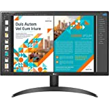 """LG 24QP500-B 24"""" QHD (2560 x 1440) IPS Display QHD IPS Monitor with HDR 10 sRGB 99% Color Gamut and FreeSync with 3-Side Virt"""