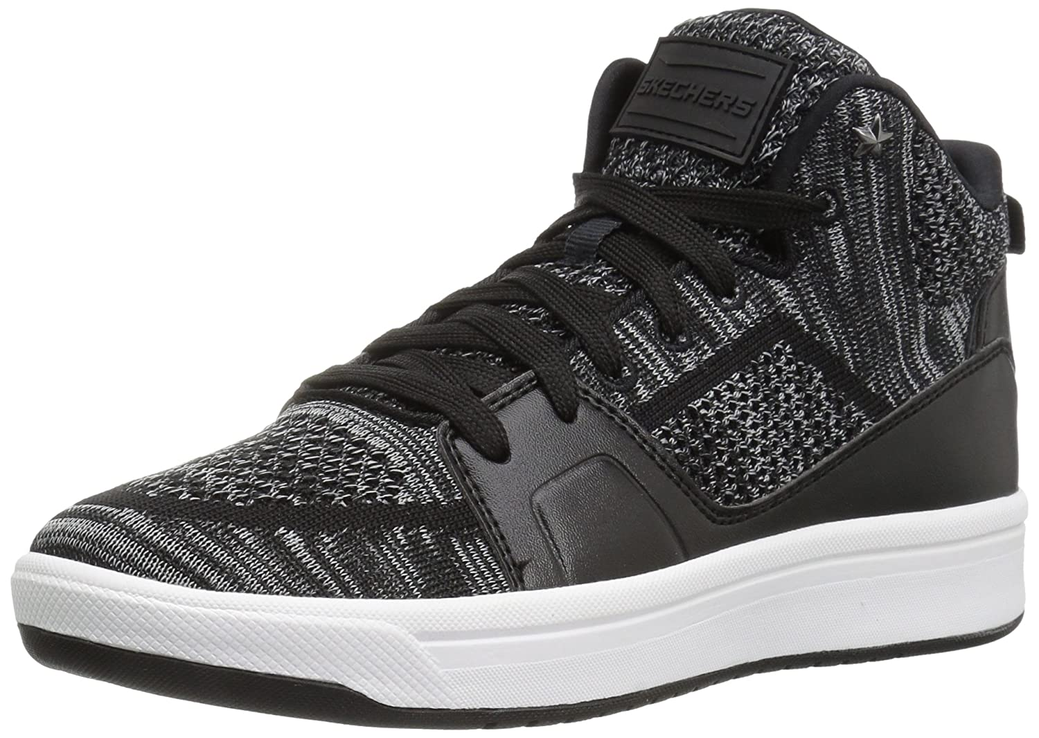noir 11 B(M) US Skechers Wohommes Downtown-Fly High mode paniers