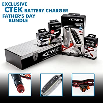 Amazon.com: CTEK Caja de herramientas Cargador de batería ...
