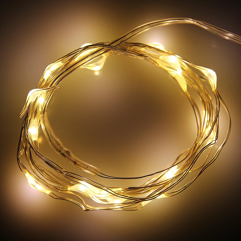Guirlande blanche noel guirlande de boules blanches en fil lumineuses with guirlande blanche - Guirlande lumineuse de noel ...