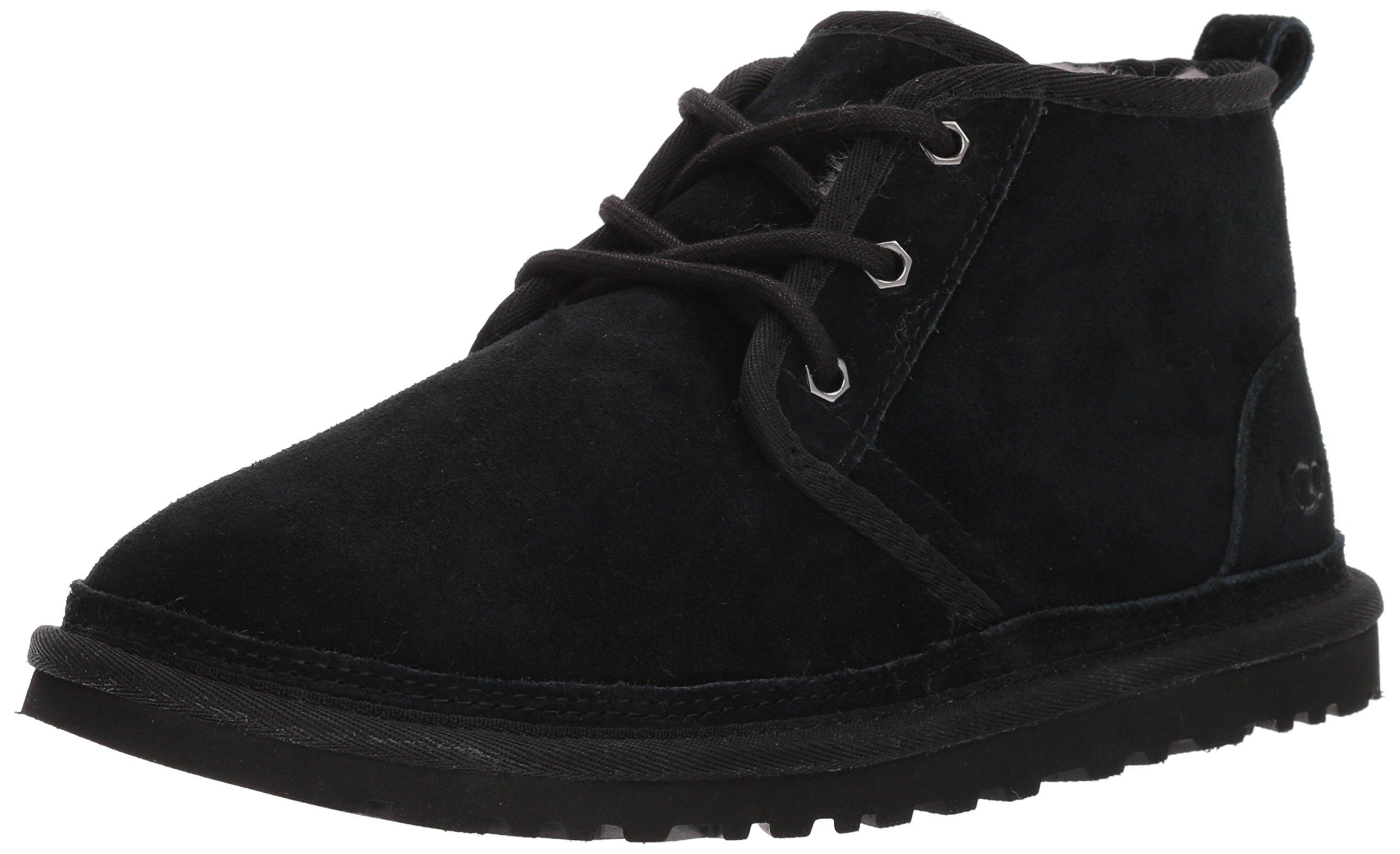 UGG Men's Neumel Chukka Boot, Black, 5 M US