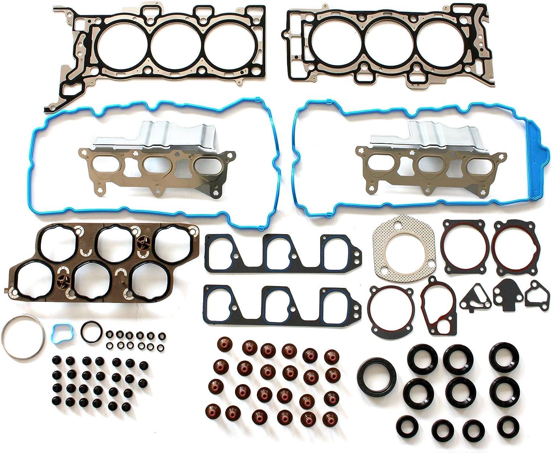 SCITOO Head Gasket Set fits Chevrolet Malibu Equinox Pontiac G6 Torrent Saturn Aura Vue Suzuki XL-7 3.6L 07-11 Engine Head Gaskets Kit Sets 058138-5206-1531151