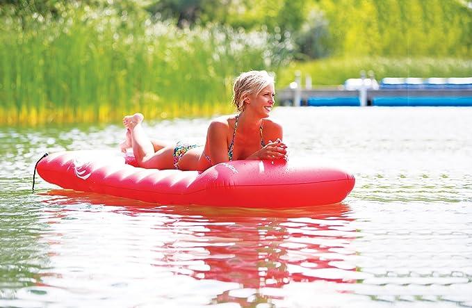 Amazon.com: Sevylor único Lago colchón inflable: Sports ...