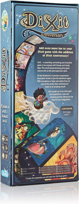 Libellud ASMDIX11EN2 Dixit: 10º Aniversario de expansión: Amazon ...
