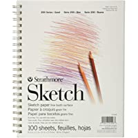 Sketch Pad, 8.5 x 11 Inches(100 Sheet)