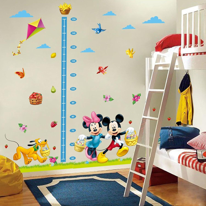 Amazon Ptk12 Cartoon Mickey Minnie Mouse Dog Height Measure