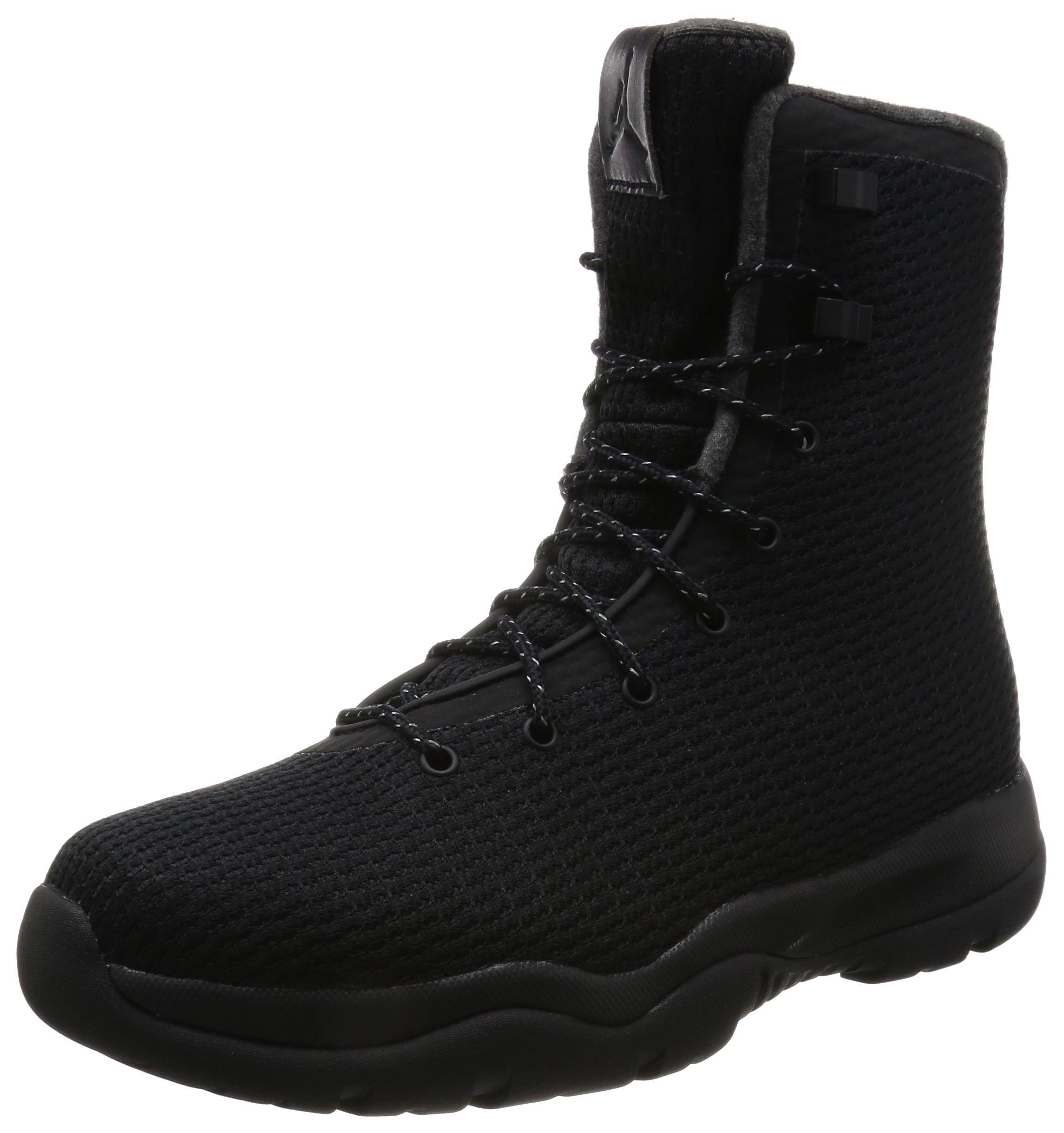 Nike Mens Jordan Future Boot (9 D(M) US, BLACK/BLACK-DARK GREY) by NIKE