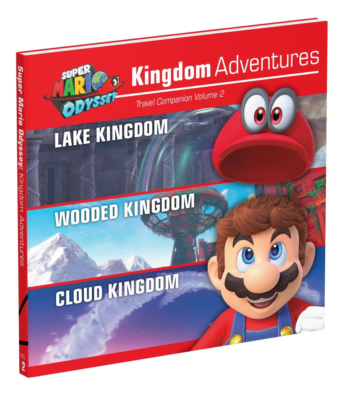 Super Mario Odyssey Kingdom Adventures Vol 2 Amazon Co