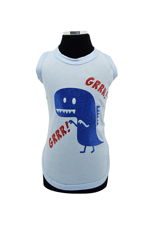 Trilly Tutti Brilli T-Shirt per Cani Blu XS