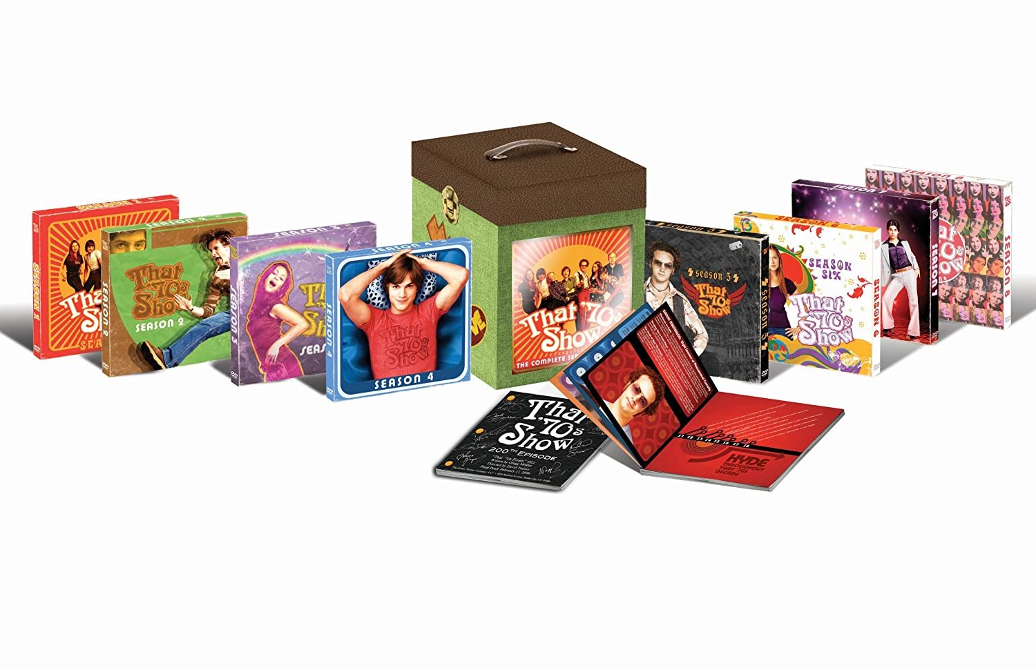That 70s Show Complete Giftset DVD Region 1 US Import NTSC Amazoncouk Blu Ray
