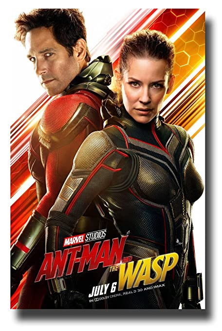Amazon Com Ant Man And The Wasp Poster Movie Promo 11 X 17 Inches