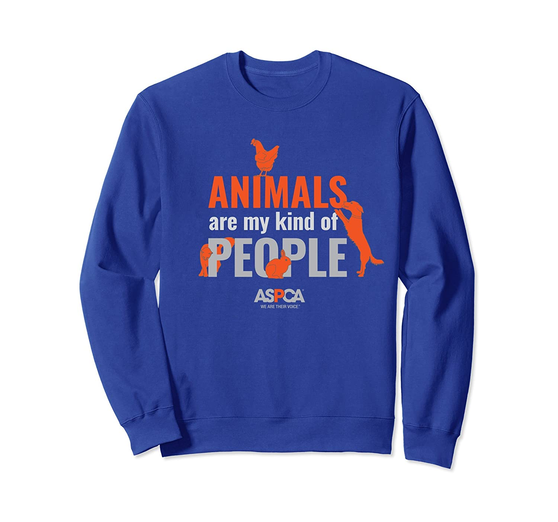 ASPCA Animals Are My Kind of People Sweatshirt Dark-ln