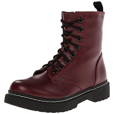 Soda Women's Grunge Combat Boot   Ankle & Bootie