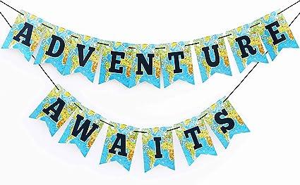 amazon com boston creative company adventure awaits banner bon