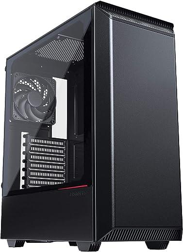 صندوق كمبيوتر ايكليبس P350X ميد تاور ايه تي اكس صغير الحجم من فاناتيكس (PH-EC350PTG_DBK) PH-EC300PTG_BK