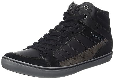 Geox U Box D, Sneakers Basses Homme, Noir (Black), 44 EU