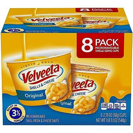 Velveeta Original Shells & Cheese tazas de microondas (19.3 ...