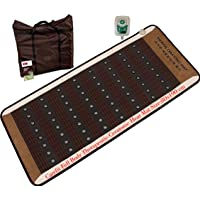 Carefit Full Size Korean Tourmaline Ceratonic Infrared Pad, Ceramix Red Clay Ceraball Mat, 6.2 Ft x 2.6 Ft
