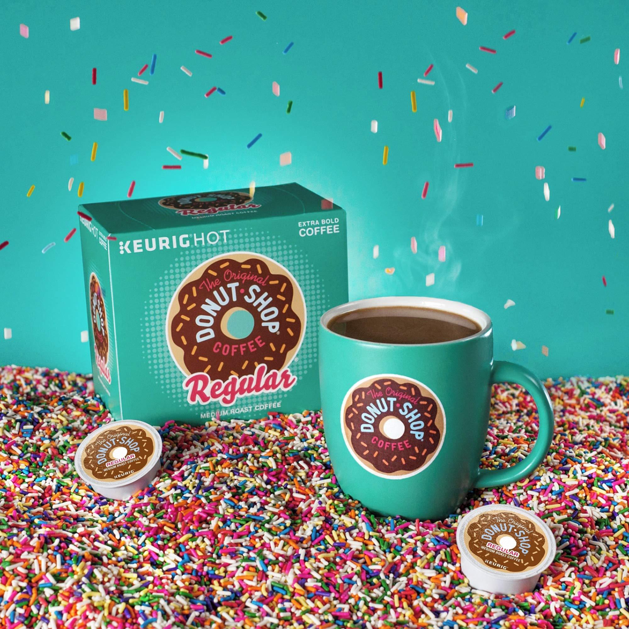 The Original Donut Shop Coffee, Regular Medium Roast, K-Cup Portion Count for Keurig Brewers 24-Count (Pack of 4) by The Original Donut Shop (Image #7)