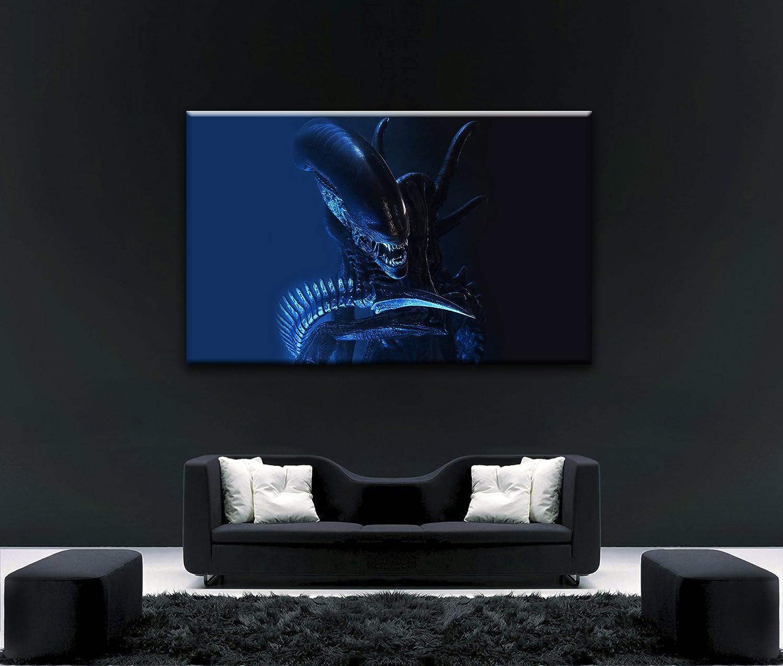 Von Canvas35 Alien V PROTator Film 6 6 6 101,6 x 61 cm Gerahmter Kunstdruck, Leinwand, mehrfarbige, 531d4a