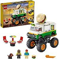 LEGO® Creator 3'ü 1 arada Canavar Hamburger Kamyonu (31104)