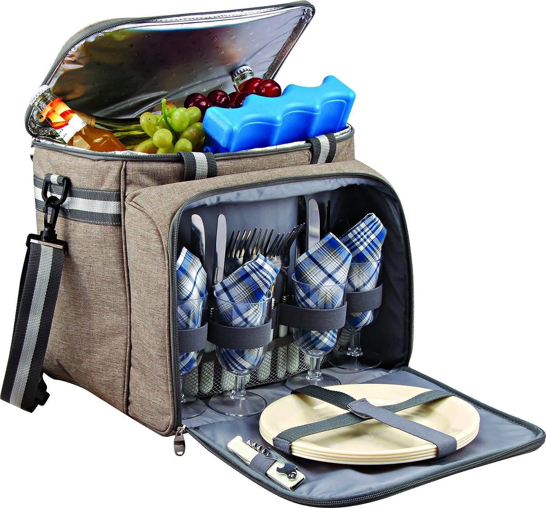 GEEZY Family Picnic Cool Bag Backpack Hamper Wine Cooler Bottle Holder Carrier The Magic Toy Shop