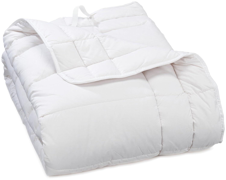 Badenia 03 882 190 000 Bettcomfort Spannauflage Clean Cotton, 160 x 200 cm, weiß