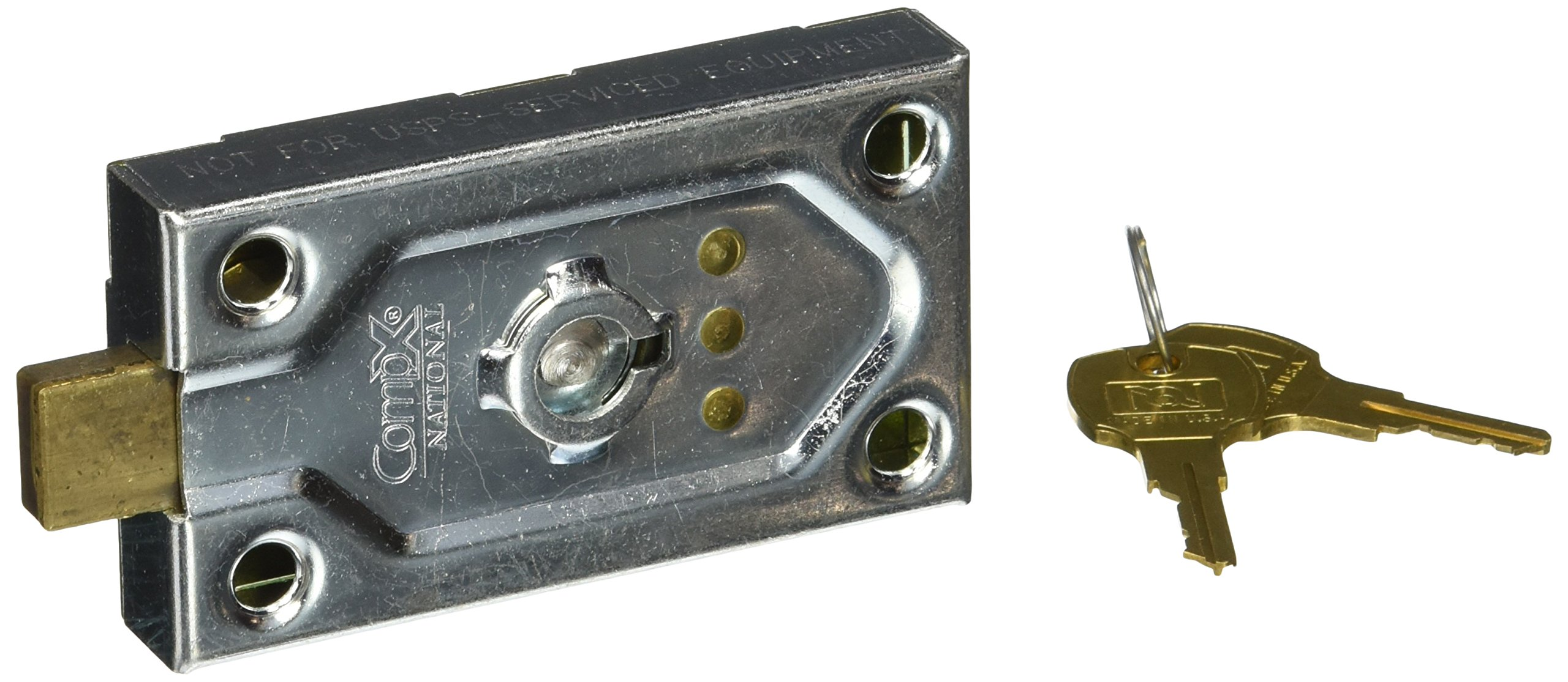 Salsbury Industries 1095 Replacement Commercial Lock for Key Keeper with 2 Keys
